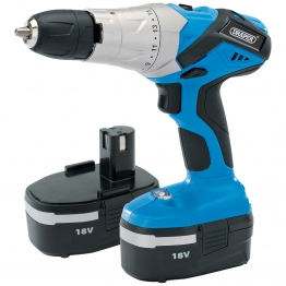 18v Cordless Hammer Drill With Two Batteries