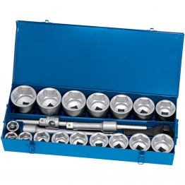 "1"" Sq. Dr. Metric Socket Set (22 Piece)"