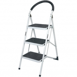 3 Step Steel Ladder To En14183