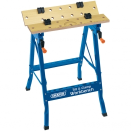 600mm Tilt And Clamp Fold Down Workbench