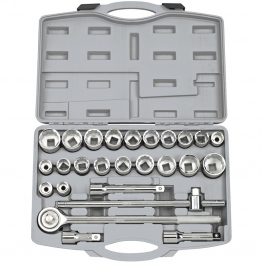 "3/4"" Sq. Dr. Mm/af Combined Socket Set (26 Piece)"