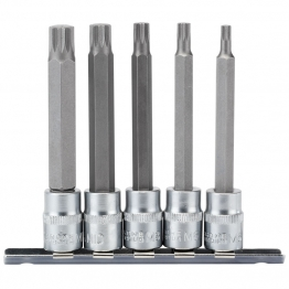 "3/8"" Sq. Dr. Spline Socket Bit Set (5 Piece)"