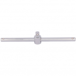 "1/2"" Square Drive Satin Chrome Sliding T Bar"