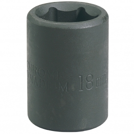 "Expert 18mm 1/2"" Square Drive Impact Socket (sold Loose)"