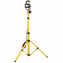 Expert 110v Cob Led Worklamp (10w) With Telescopic Tripod