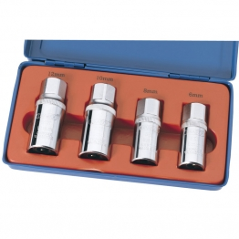"1/2"" Square Drive 4 Piece Stud Extractor Set"