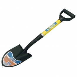 Round Point Mini Shovel With Fibreglass Shaft