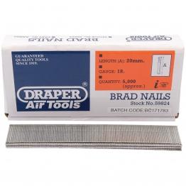 20mm Brad Nails (5000)