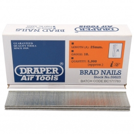 25mm Brad Nails (5000)