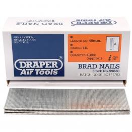 40mm Brad Nails (5000)
