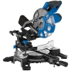 210mm 1500w 230v Sliding Compound Mitre Saw With Laser Cutting Guide