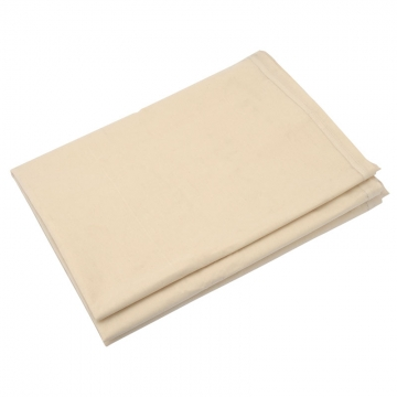 3.6 X 2.7m Laminated Cotton Dust Sheet