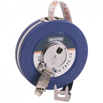 Expert 10m/33ft Fibreglass Measuring Tape