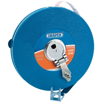 Expert 30m/100ft Fibreglass Measuring Tape