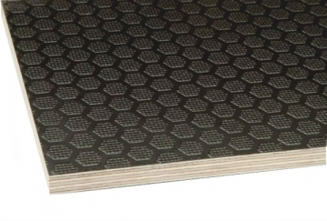 Anti-slip Phenolic Plywood With Hexagon Pattern
